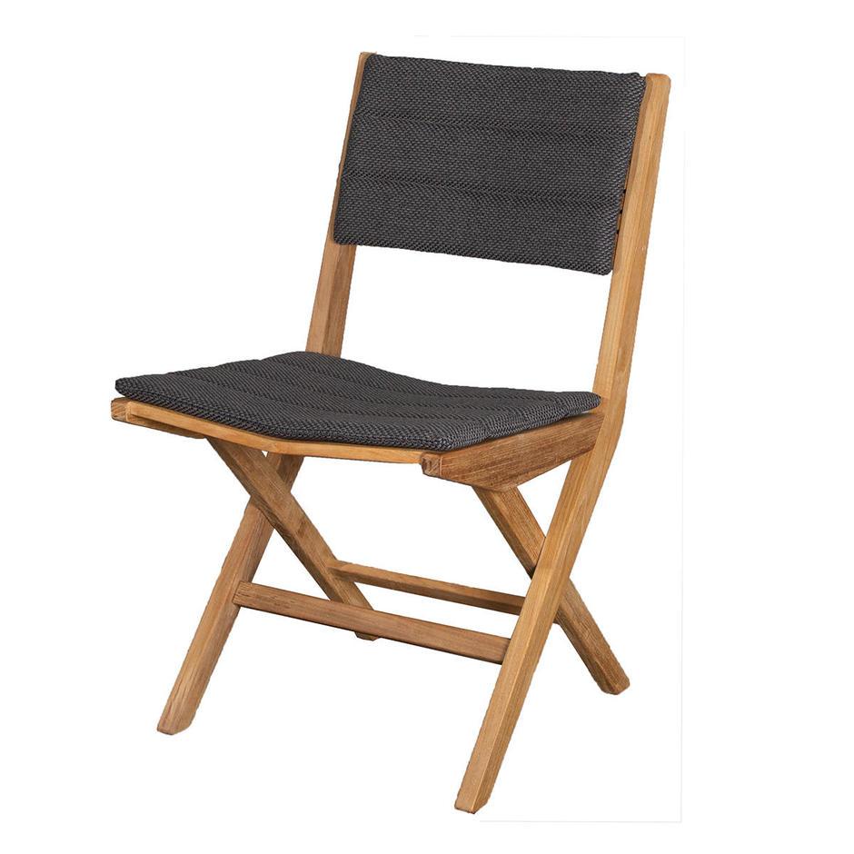Flip Teak Folding Chair Cushions