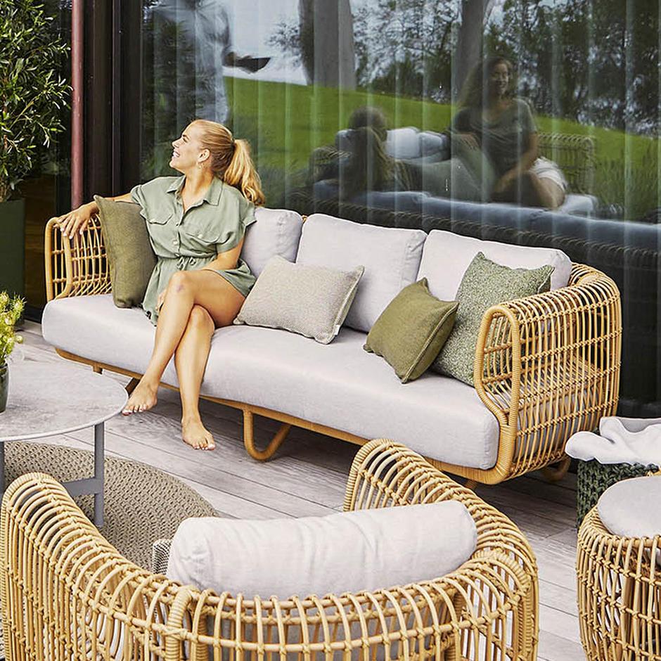Nest Outdoor 3 Seat Sofa