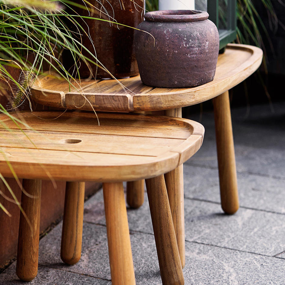 Royal Rectangular Teak Coffee Table