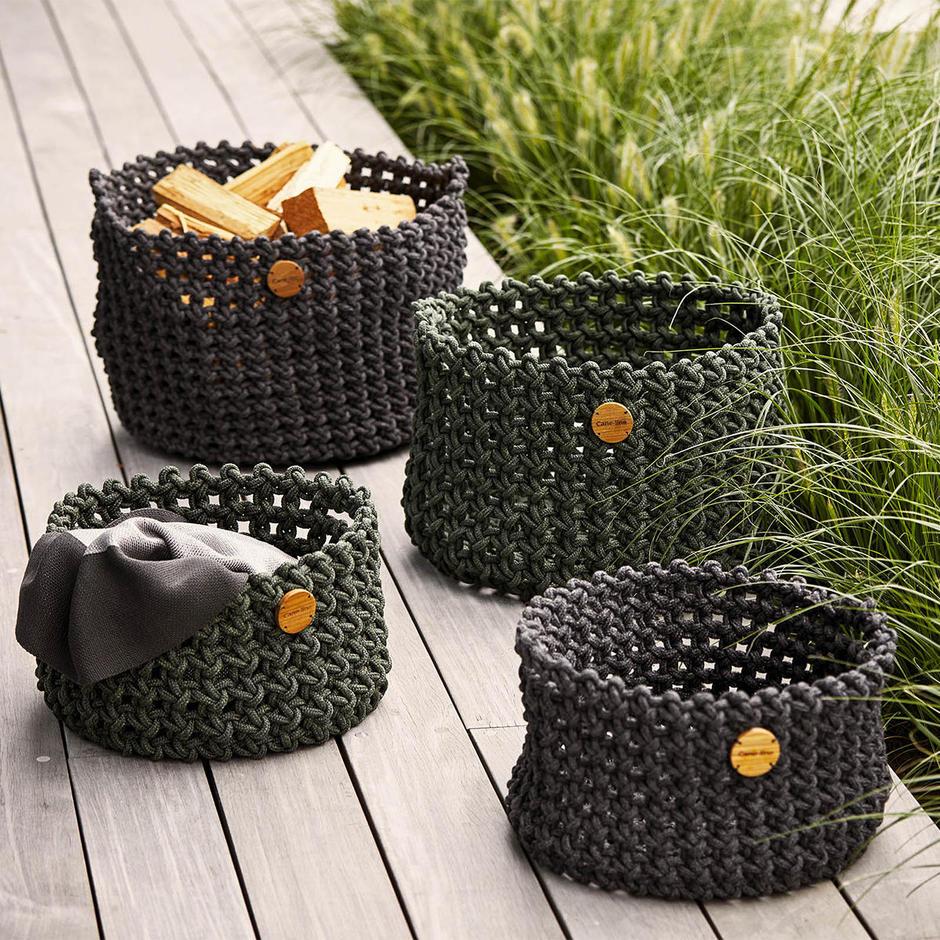 Cane-line Rope Baskets