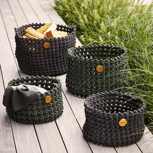 Cane-line Rope Baskets