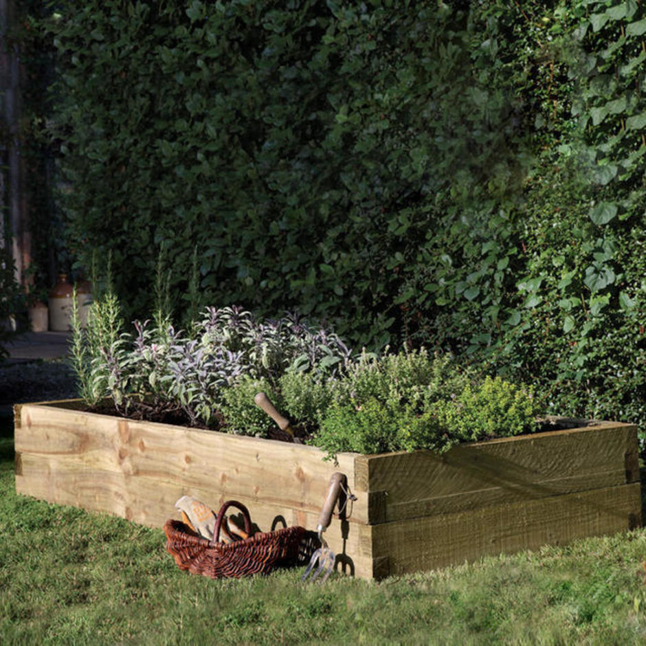 Caledonian Rectangular Raised Bed