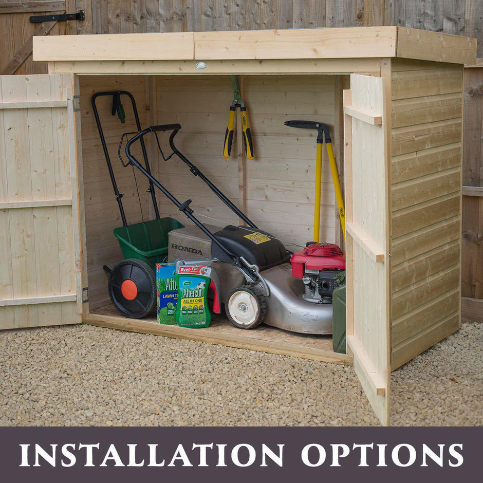 Outdoor Pent Roof Large Storage Sheds