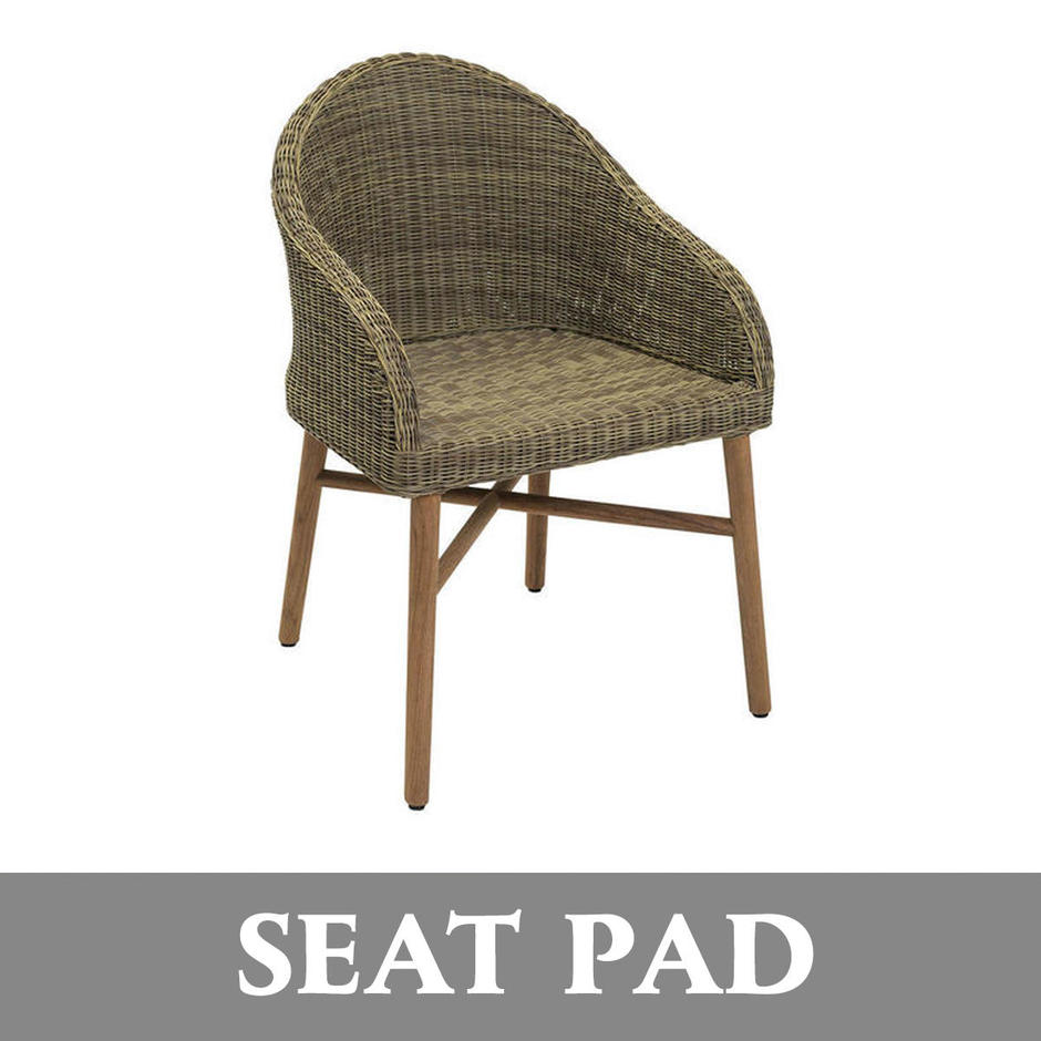 Harris Outdoor Dining Chair Seat Pads