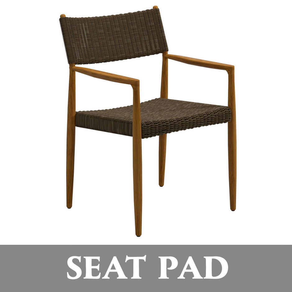 Seat Pad Cushion for Tundra Dining Chair