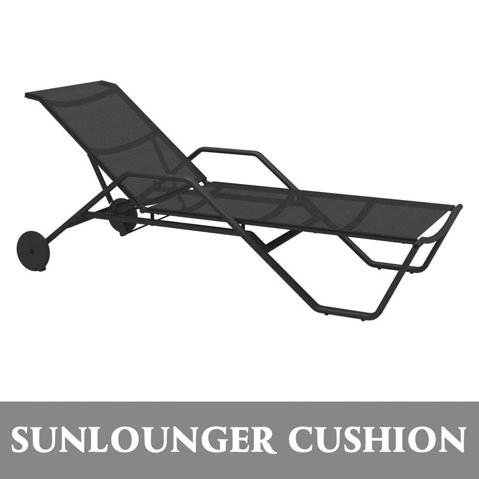 Cushion for 180 Stacking Lounger with Arms