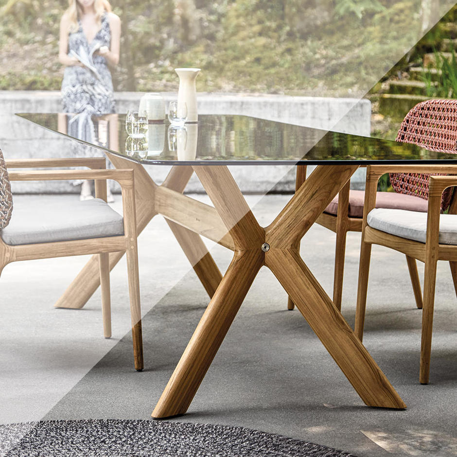 Protective Cover for X-Frame Dining Tables