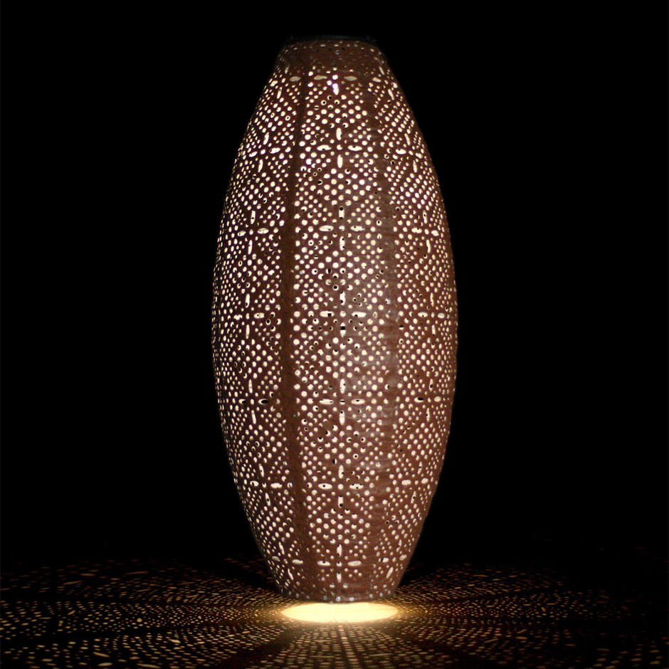 Solar Oval Outdoor Summer Lantern