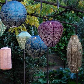 Solar Cylinder Outdoor Summer Lantern