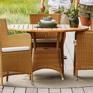 Lansing Round Outdoor Table Bases