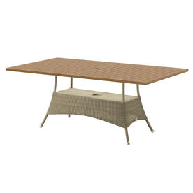Lansing Rectangular Outdoor Dining Tables Tops
