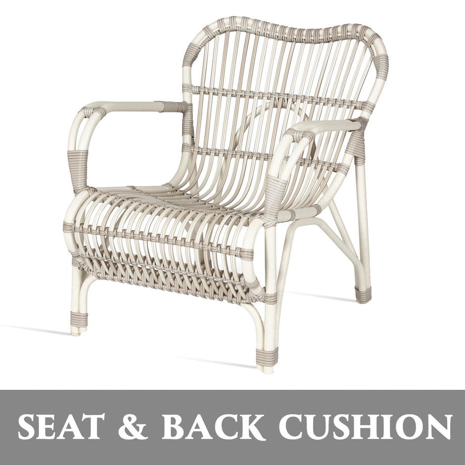 Lucy Lazy Armchair Seat and Back Cushion