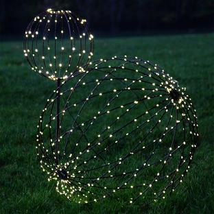 Solar Outdoor LED Decorative Spheres
