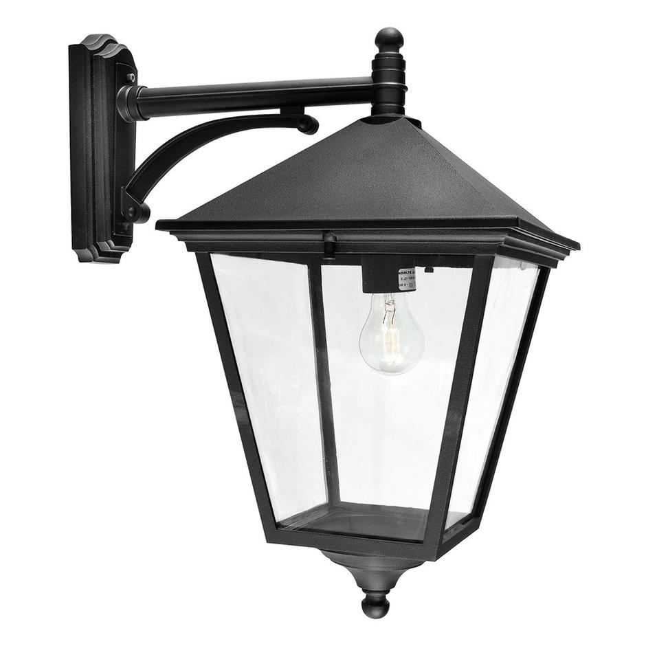Turin Grande Outdoor Down Wall Lantern