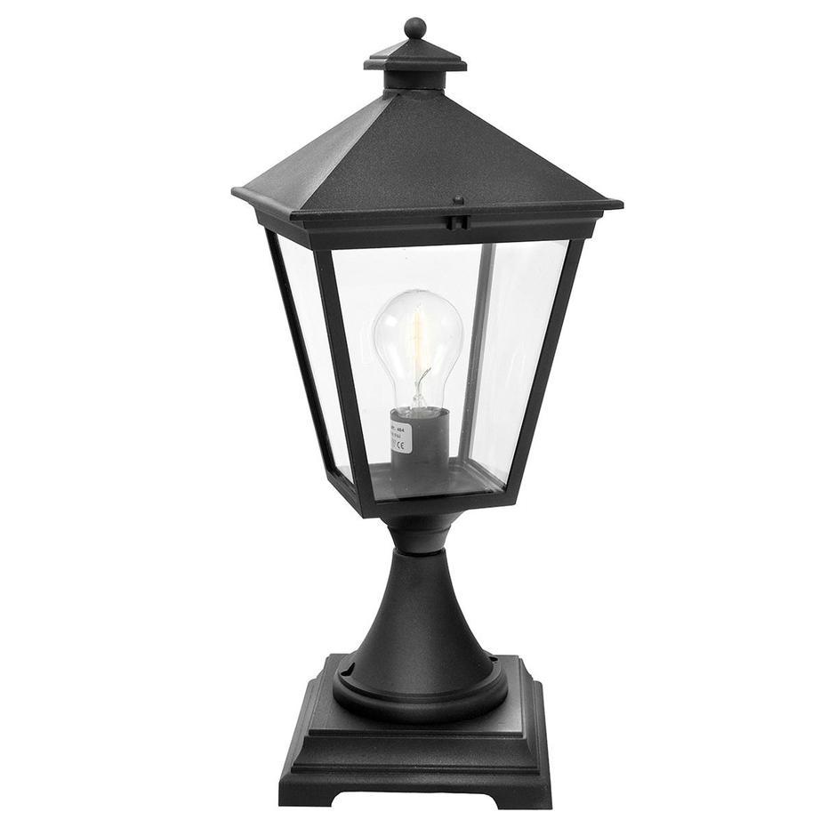 Turin Outdoor Pedestal Lanterns