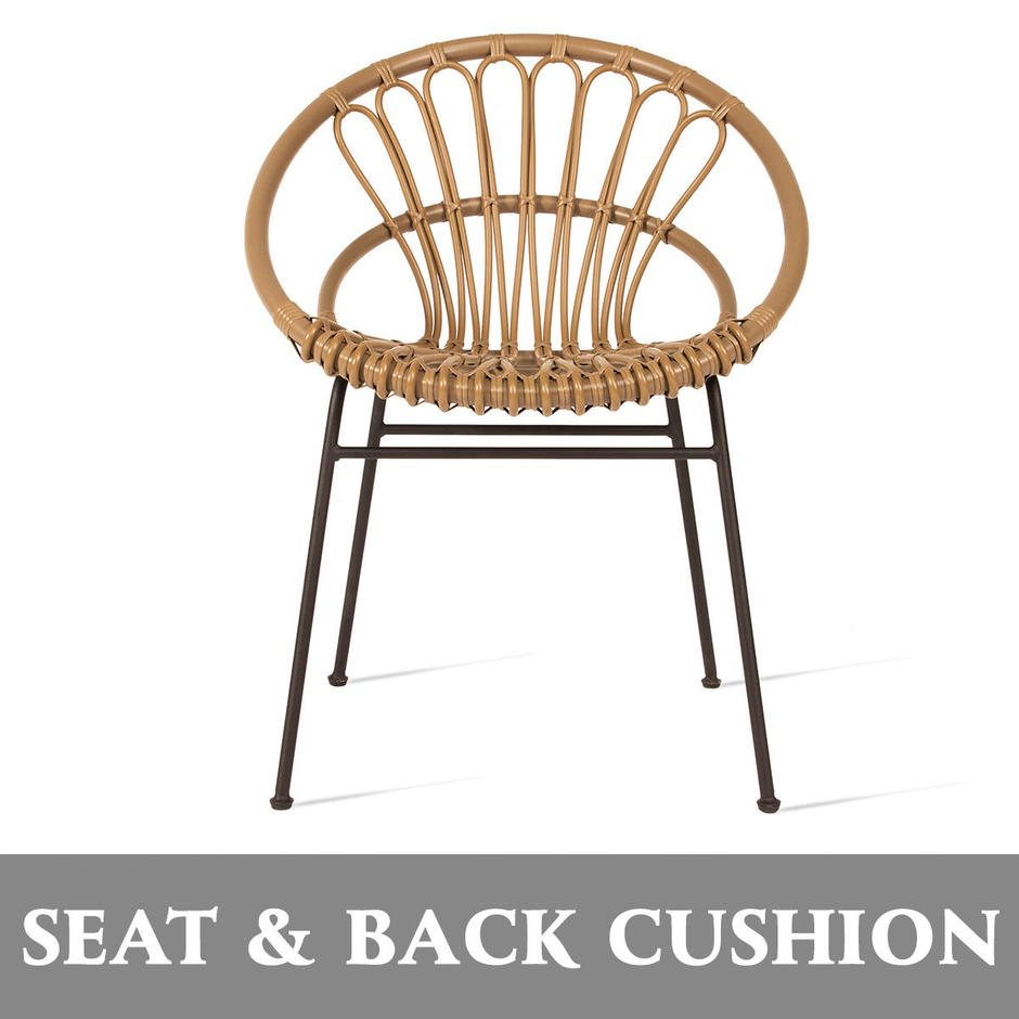 Roxanne Dining Chair Seat and Back Cushion Set