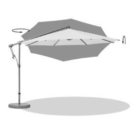 Sunwing Casa Deluxe Rectangular Cantilever Parasol