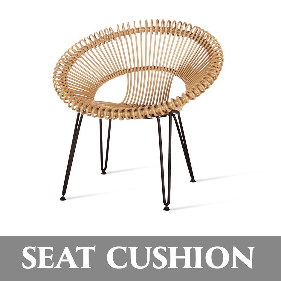 Roy Lazy Chair Seat Cushion