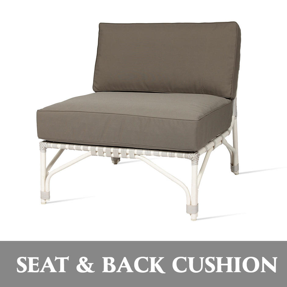 Lucy Modular Centre Seat and Back Cushion Set