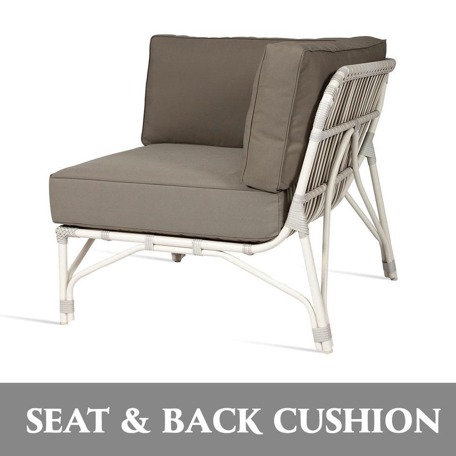 Lucy Modular Corner Seat and Back Cushion Set