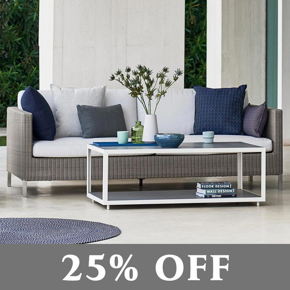 Connect Outdoor Lounge 3 Seat Sofa