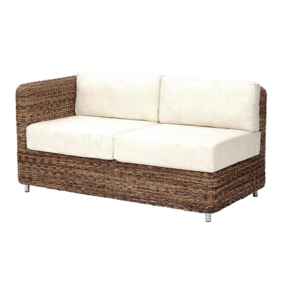 Malibu Modular Outdoor Lounge Double Unit Cushion Set