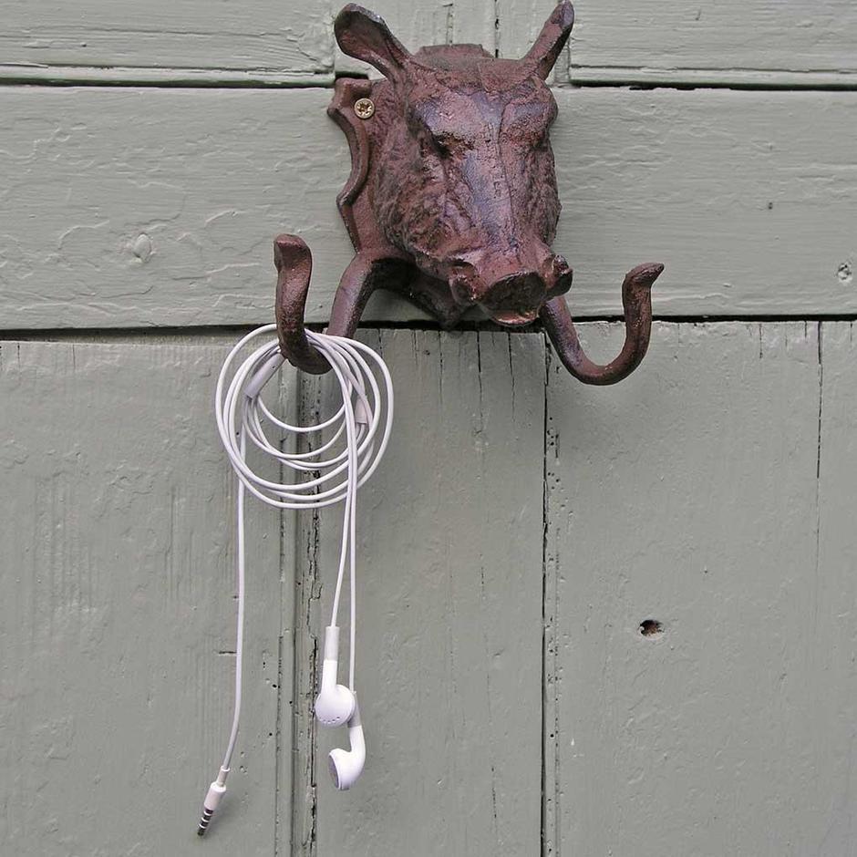 Warthog Coat Hook