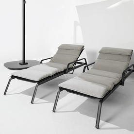 Seat & Back Cushion for Helio Adjustable Loungers