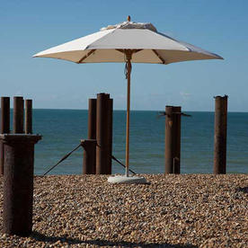 Classic Wood Framed 3.2m Round Parasols