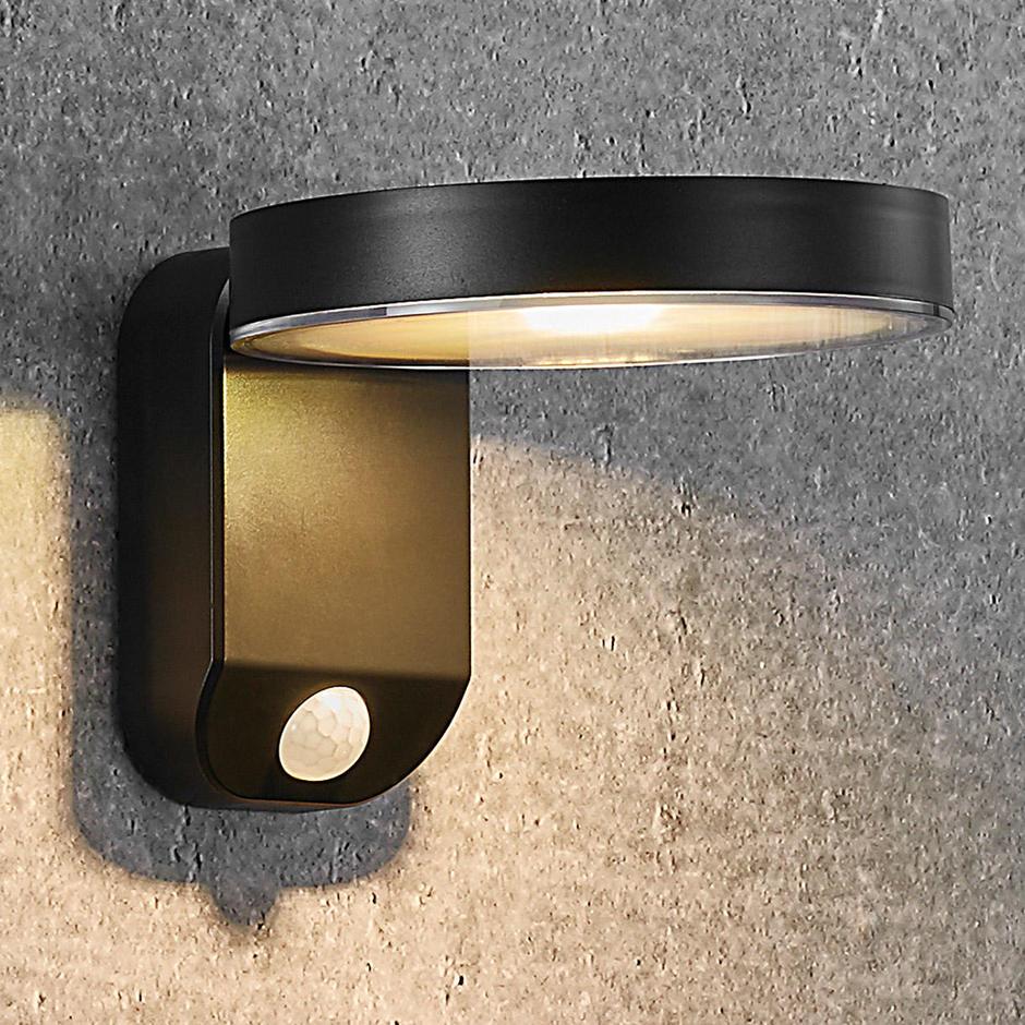 Rica Round Solar Wall Light