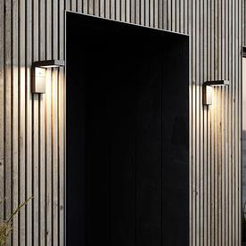 Alya Solar Wall Light
