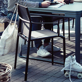 Cadiz Stacking Arm Chairs