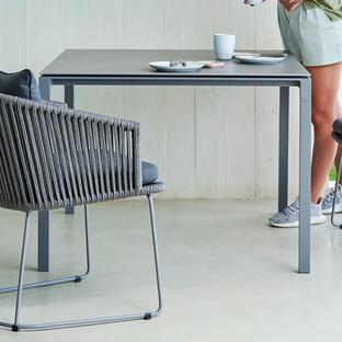Pure Square 100cm Table Base