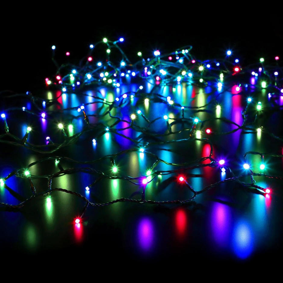 Colour Changeable Remote Festive String Lights