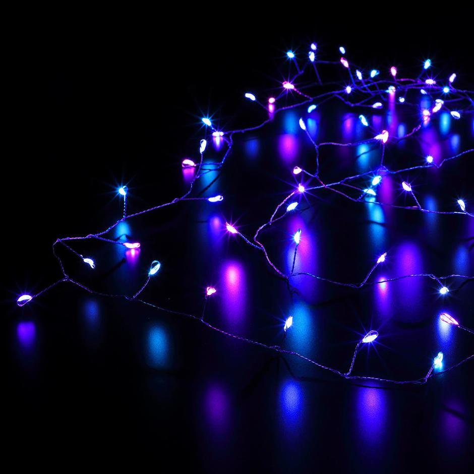 Pastel Micro LED Tree Lights