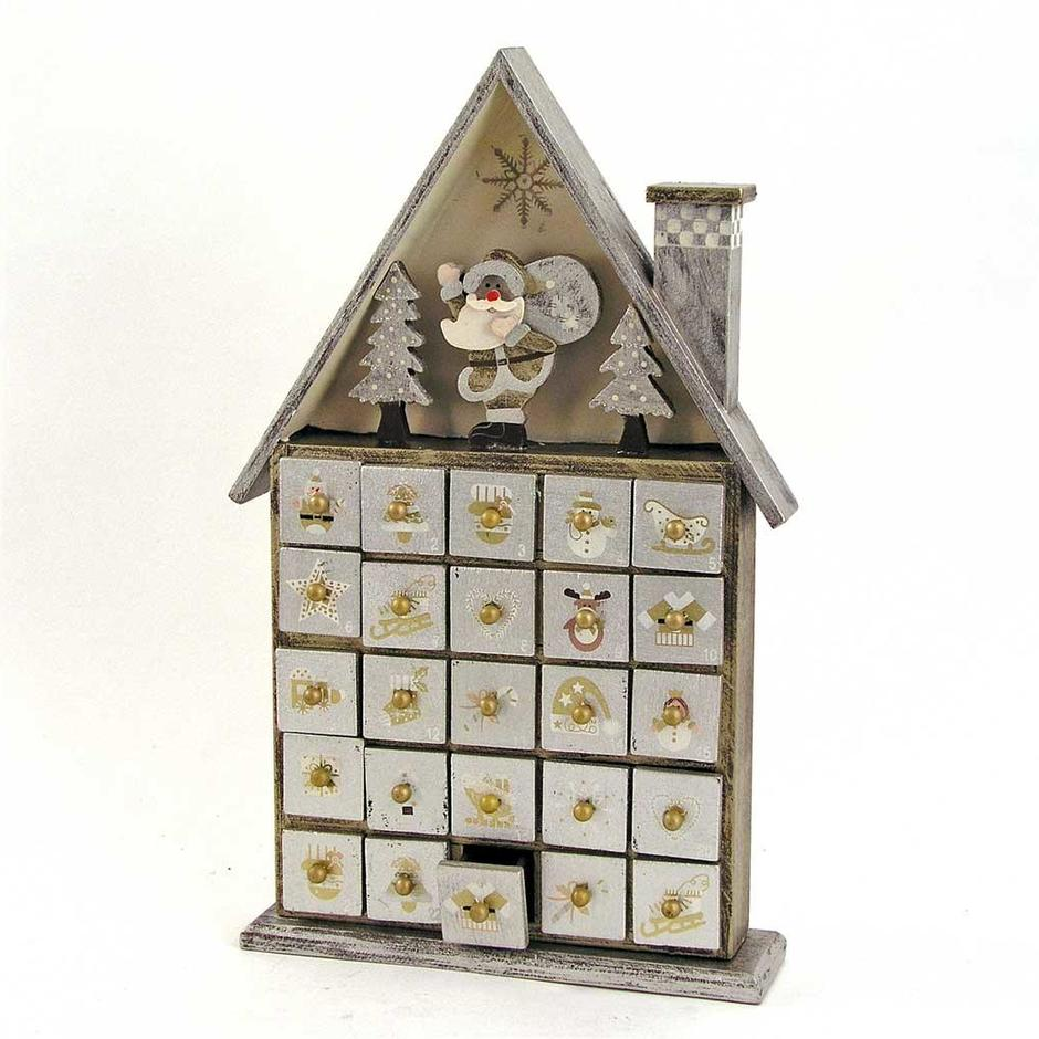 Wooden Advent House