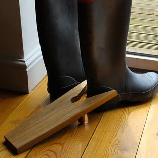 Oak Boot Jack