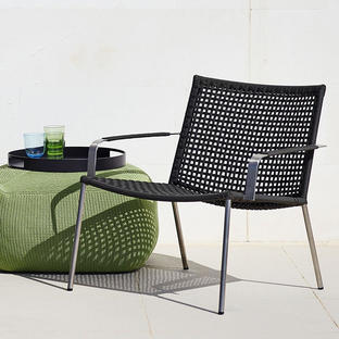 Straw Outdoor Lounge Chair
