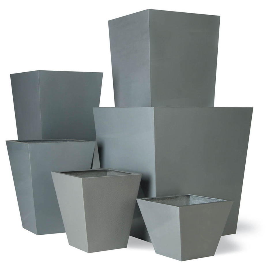Geo Tapered Planters