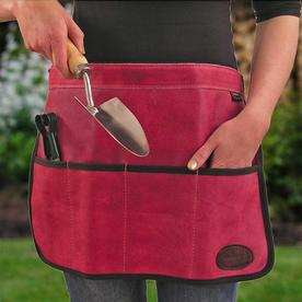 Suede Tool Roll Aprons