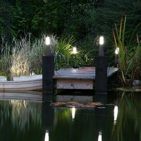 Garden Zone Beta Plug & Go Pillar Lights