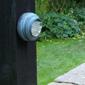 Garden Zone Bronze Plug & Go Mini Wall Light