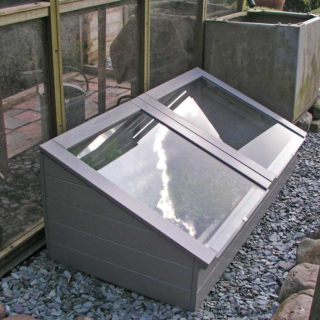 Buy Wooden Coldframe - Grey — The Worm that Turned - revitalising ...