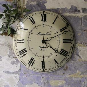 Enamel Outdoor Clock
