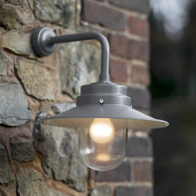 Buy outdoor belfast wall light the worm that turned for Applique murale exterieure zinc