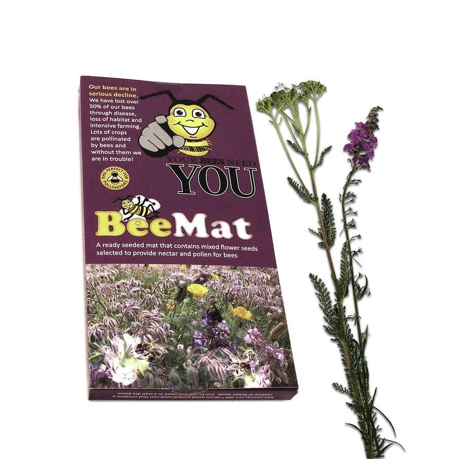 Bee & Butterfly Seed Mats 1m3