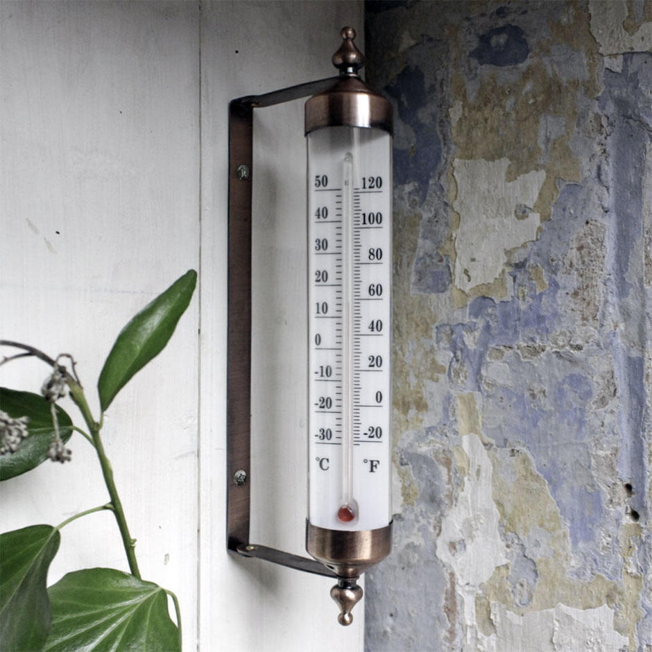 Compact Wall Thermometer