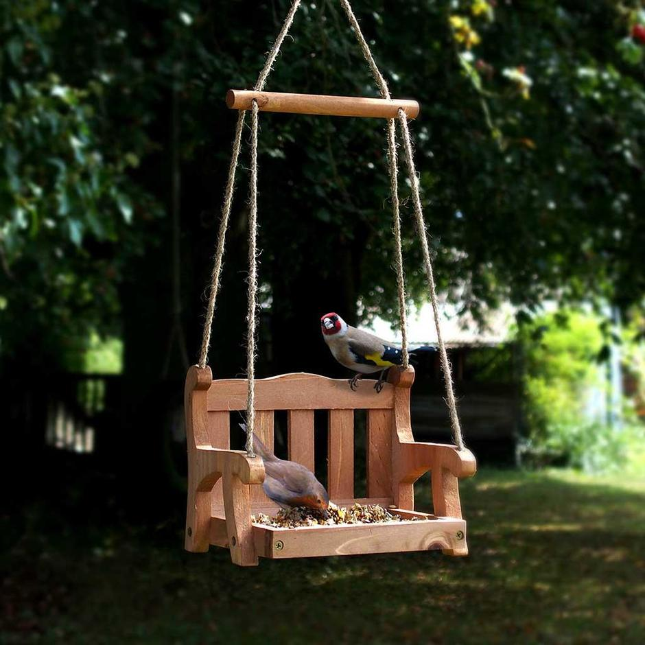Bird Feeder Swing Seat