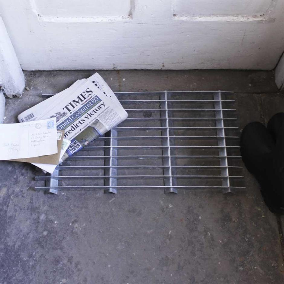 Galvanised Door Mat