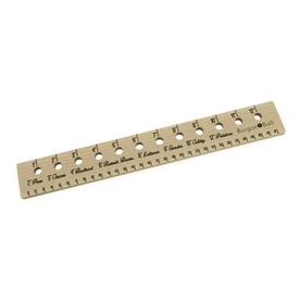 Small Seed Planting Ruler